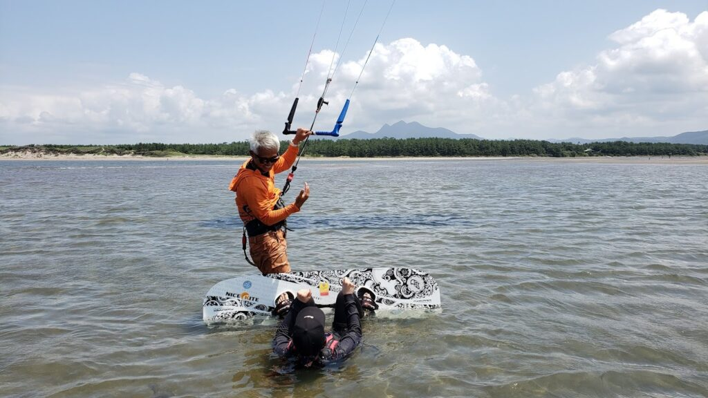 日本一カイトサーフィンに適したビーチ!